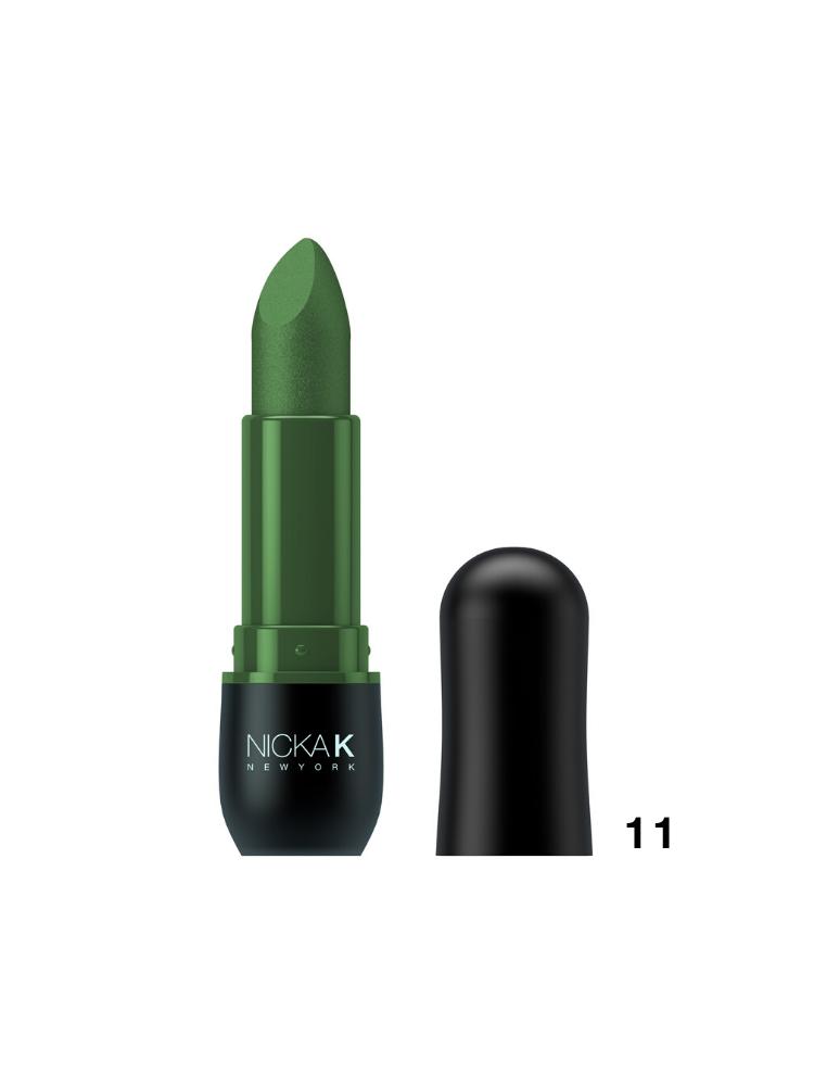 Nicka K New York Vivid Matte Lipstick Sea Green -11 3,5gr