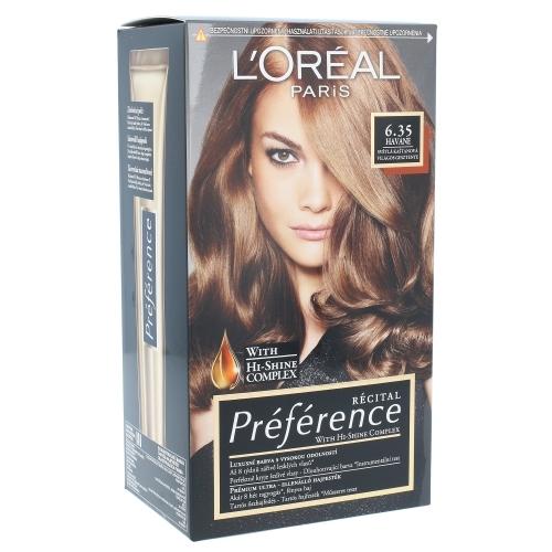 Loreal Paris Preference Recital Hair Colour Hair Color 6.35 Havane