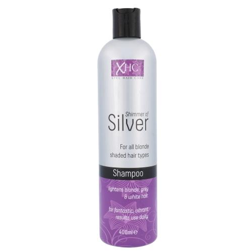 Xpel Shimmer Of Silver Shampoo 400ml (Blonde Hair - Grey Hair)