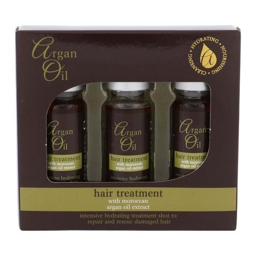 Xpel Argan Oil Hair Treatment Intensive Hydrating Shots Hair Oils And Serum 36ml (Damaged Hair - Dry Hair)