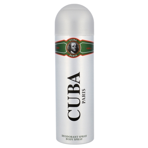 Cuba Green Deodorant 200ml (Deo Spray)