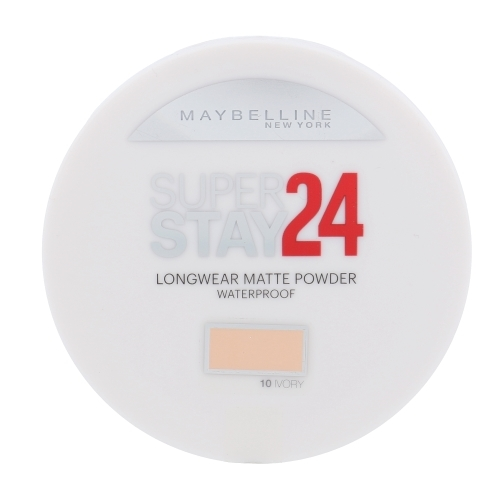 MAYBELLINE Super Stay 24 Longwear Matte Powder Waterproof 10 Ivory 9g