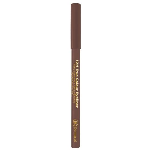 Dermacol 12h True Colour Eye Pencil 0,28gr 4 Light Brown
