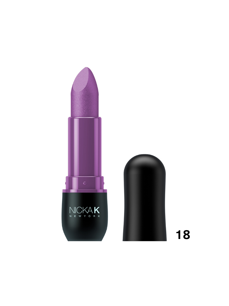 Nicka K New York Vivid Matte Lipstick Violet -18 3,5gr