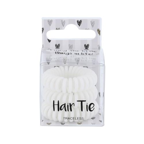 2k Hair Tie 3 τμχ Hair Bands White