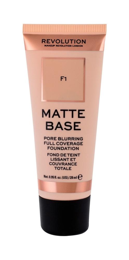 Makeup Revolution London Matte Base Makeup 28ml F1
