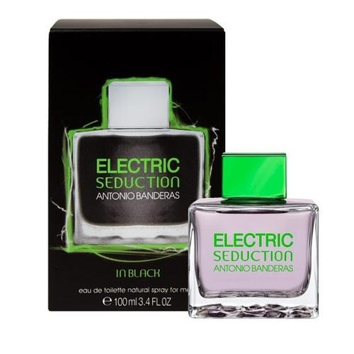 Antonio Banderas Electric Seduction In Black Eau De Toilette 100ml