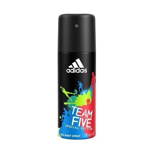Adidas Team Five Special Edition Deodorant 150ml Aluminum Free (Deo Spray)