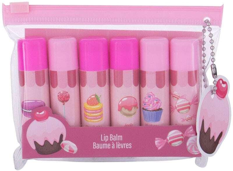 2k Lip Balm Gift Set Lip Balm 4,2gr Combo: Lip Balm 6 X 4,2 G + Cosmetic Bag