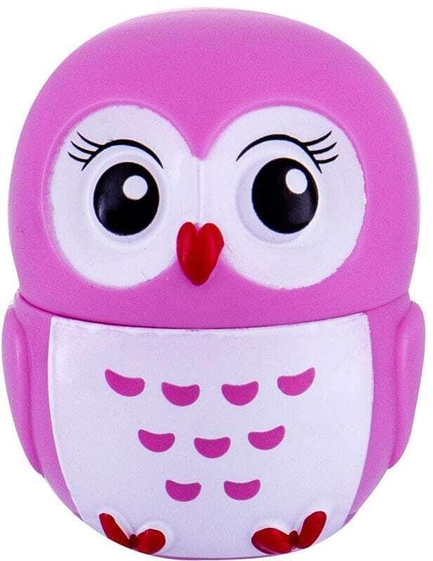 2k Lovely Owl Lip Balm Raspberry 3gr