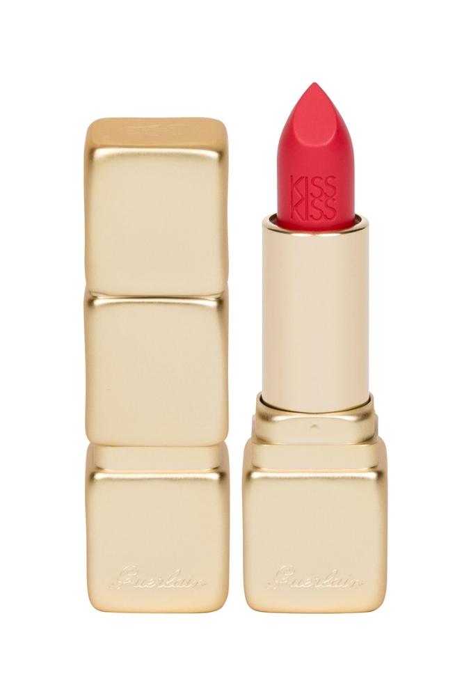 Guerlain Kisskiss Matte Lipstick 3,5gr M332 Electric Ruby (Matt)
