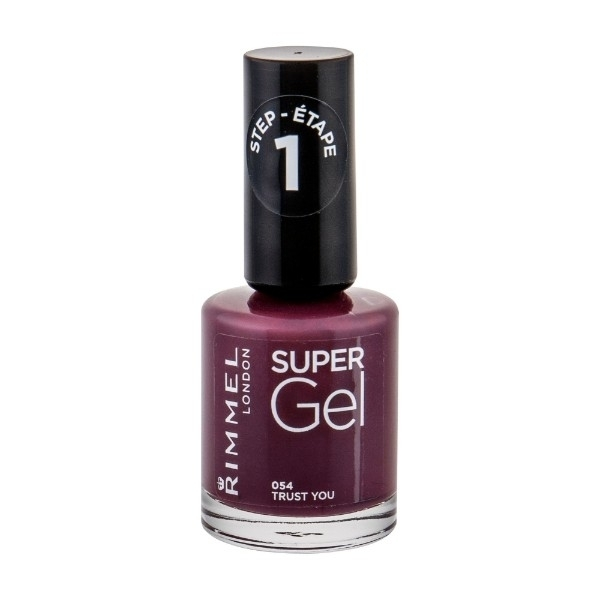 Rimmel London Super Gel Step1 Nail Polish 12ml 054 Trust You