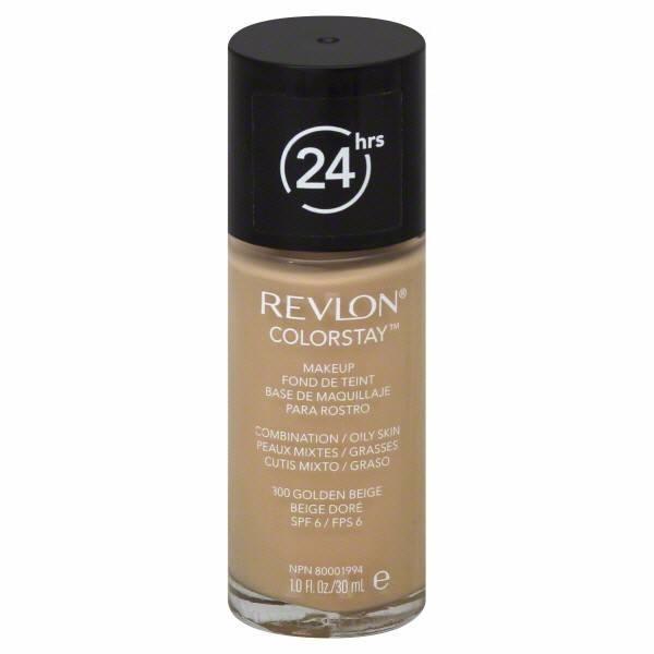 Revlon Colorstay Combination Oily Skin Makeup 30ml 300 Golden Beige