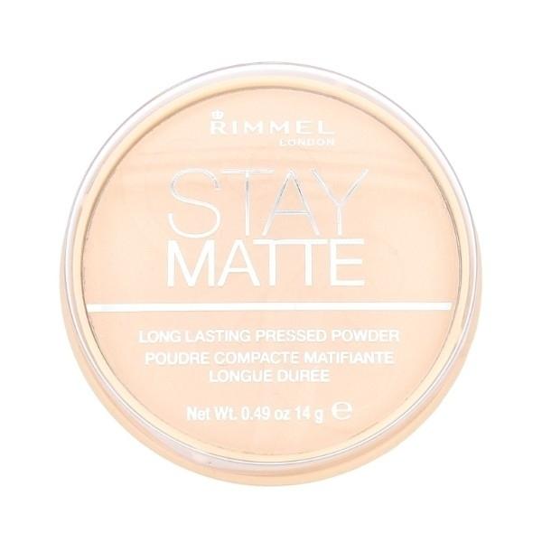 Rimmel London Stay Matte Powder 14gr 001 Transparent