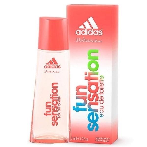 Adidas Fun Sensation For Women Eau De Toilette 50ml