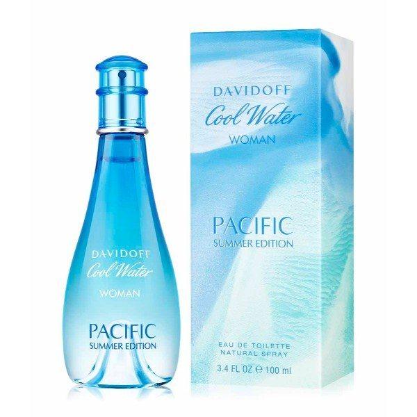 Davidoff Cool Water Pacific Summer Edition Eau De Toilette 100ml Woman