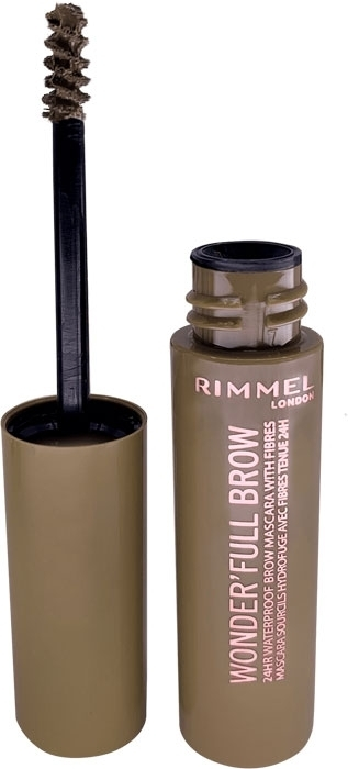 Rimmel London Wonder Full Brow Eyebrow Mascara 4,5ml Waterproof 001 Light