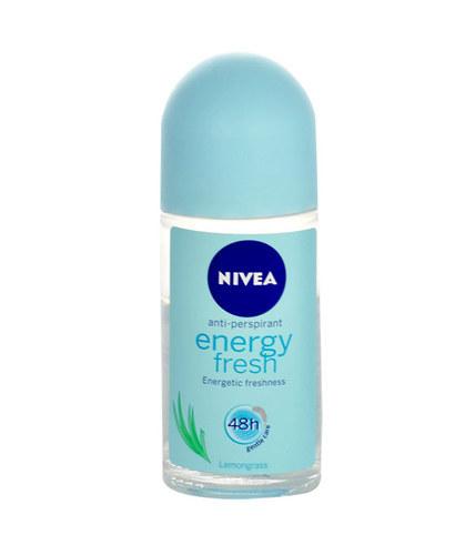 Nivea Energy Fresh Anti-Perspirant Roll-On 48H 50ml Lemnograss