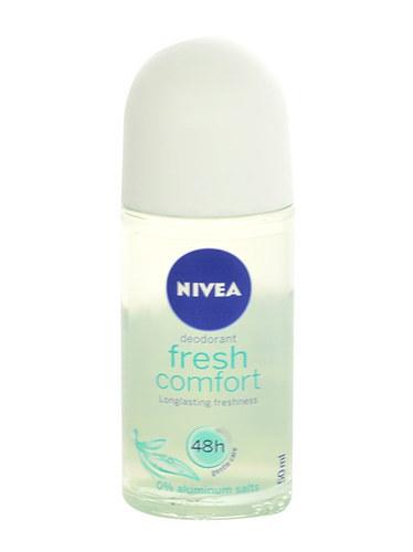 Nivea Fresh Comfort 48h Antiperspirant 50ml Aluminum Free (Roll-on)
