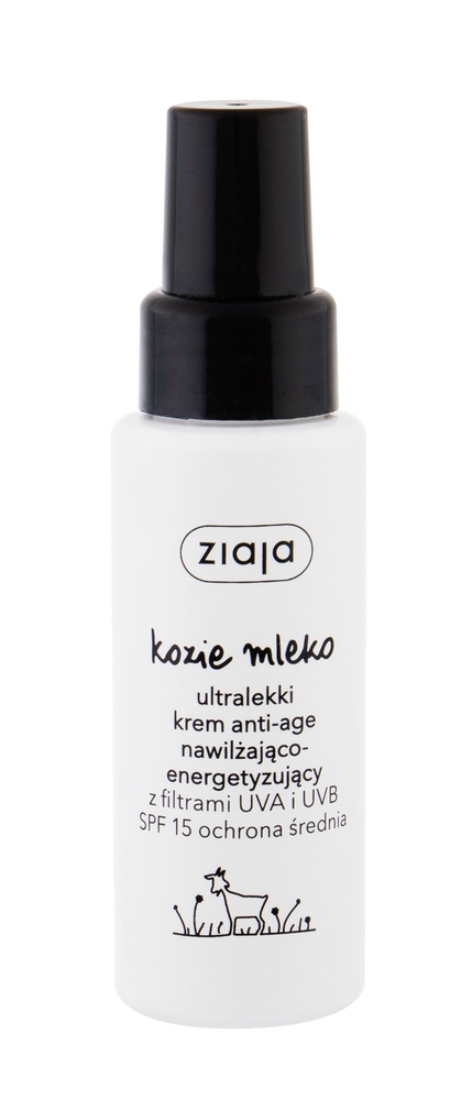 Ziaja Goat/s Milk Day Cream 50ml Spf 15 (Wrinkles - All Skin Types)