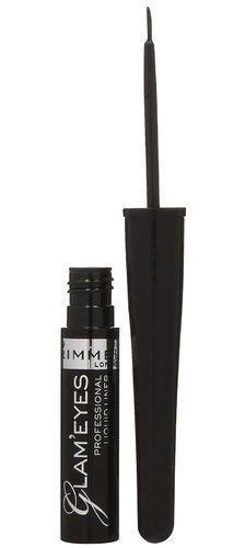 Rimmel London Glam Eyes Eye Line 3,5ml 001 Black Glamour (Liquid)
