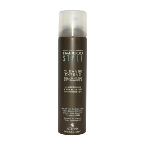 ALTERNA Bamboo Style Cleanse Extend Translucent Dry Shampoo Eco-Certified Bamboo & Blue Yucca Root 35g