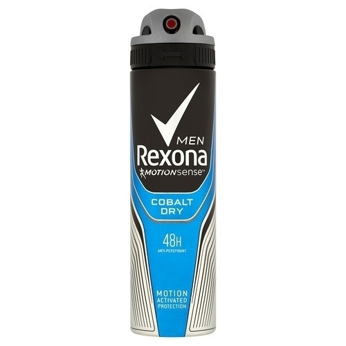 Rexona Men Motionsense Cobalt Dry Antiperspirant In Spray 150ml