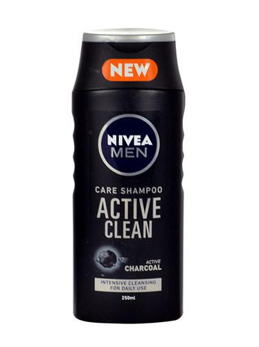Nivea Men Active Clean Shampoo 250ml (All Hair Types)