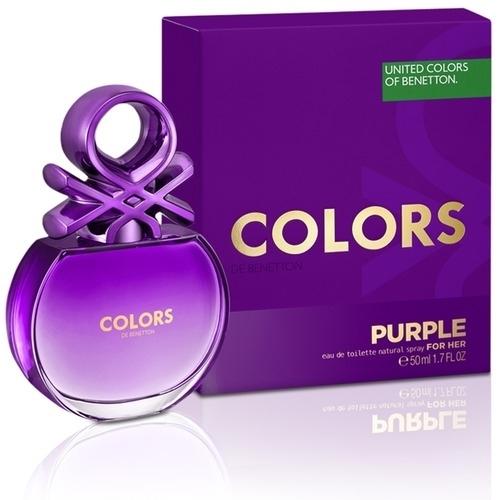 Benetton Colors De Purple Eau De Toilette 80ml