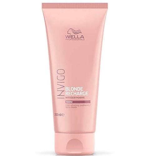 Wella Professional Invigo Blonde Recharge Warm Colour Refreshing Conditioner 200ml