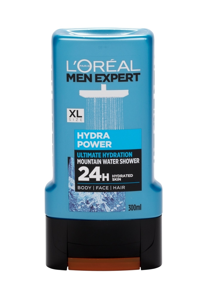 L/oreal Paris Men Expert Hydra Power Shower Gel 300ml 24 H