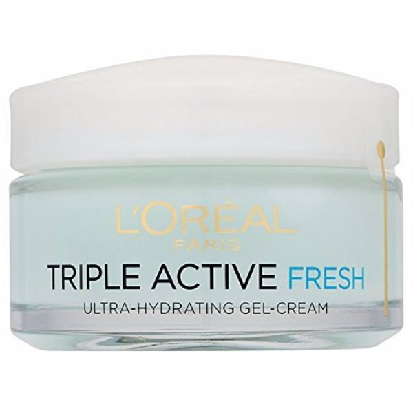 L/oreal Paris Triple Active Fresh Hydrating Gel Cream Day Cream 50ml (Normal - Mixed - For All Ages)