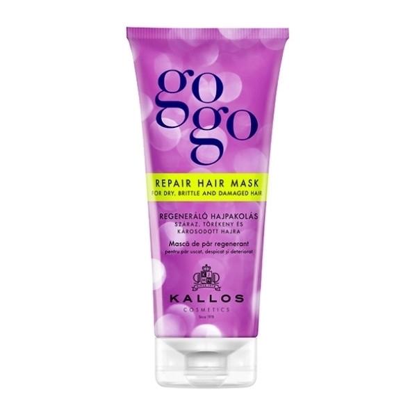 Kallos Gogo Repair Hair Mask For Dry, Brittle And Damaged Hair 200ml