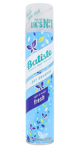 Batiste Dry Shampoo Fresh 200ml With Delicate Fresh Scent