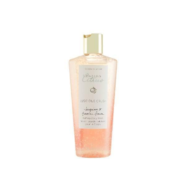 Victoria Secret Luscious Crush Body Wash 250ml Sparkling Citrus - Tangarine & Pass