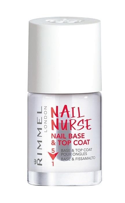 Rimmel London Nail Nurse Base & Top Coat Nail Polish 12ml