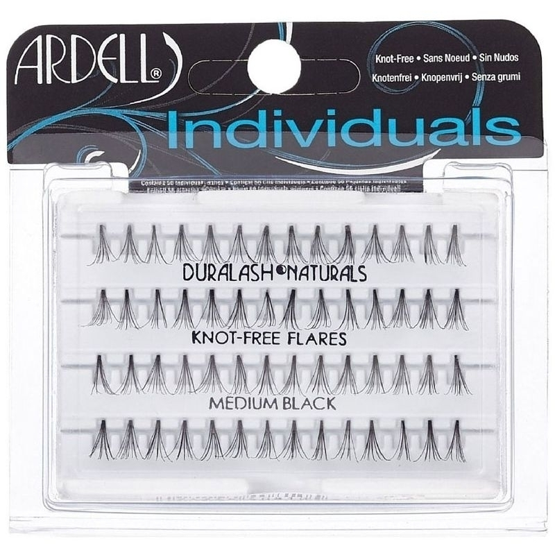 Ardell 3d Individuals Duralash Knot-free False Eyelashes 56pc Medium Black