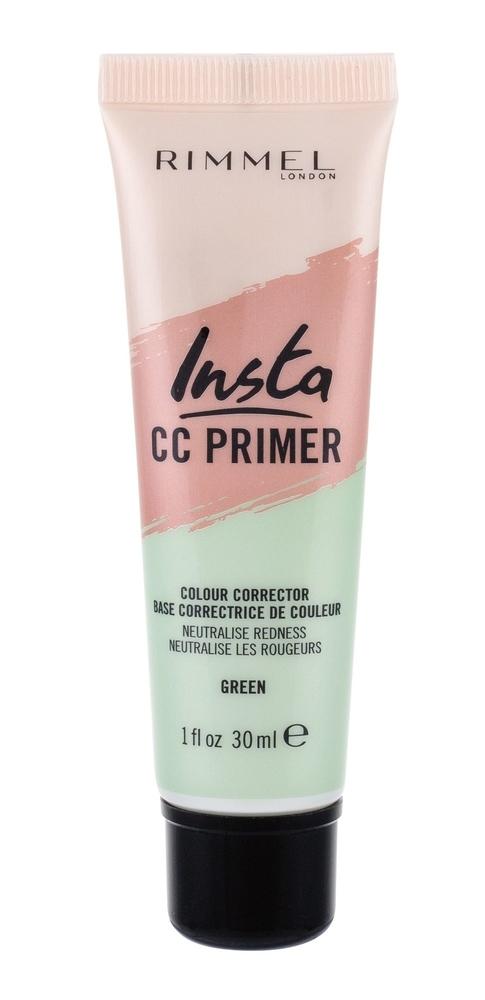 Rimmel London Insta Cc Primer Makeup Primer 30ml Green