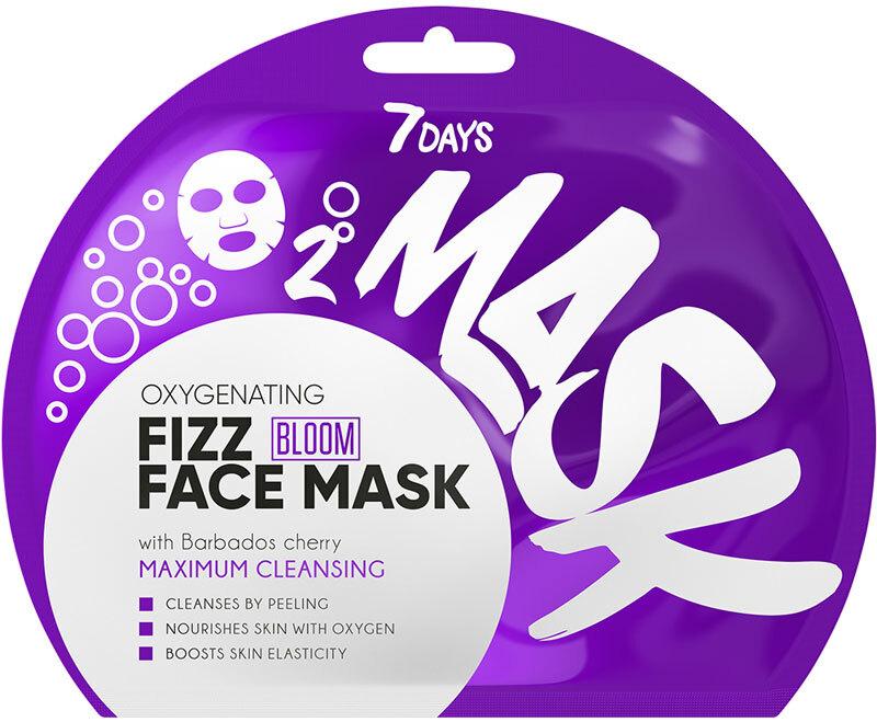 7Days Bloom Oxygen Sparkling Face Mask Maximum Cleansing 25gr