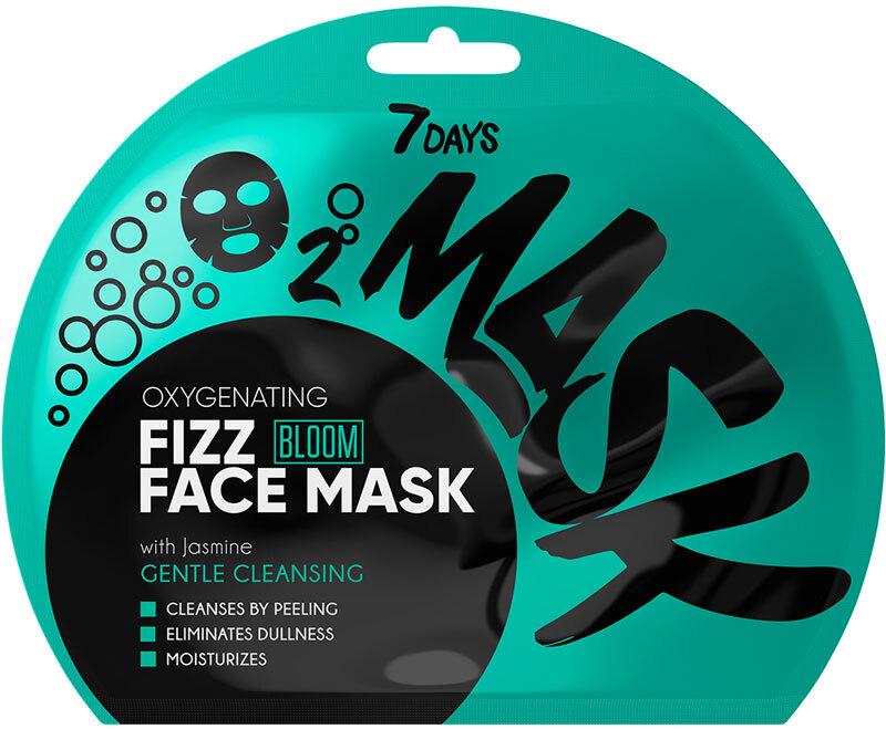 7Days Bloom Oxygen Sparkling Face Maskgrentle Cleansing 25gr