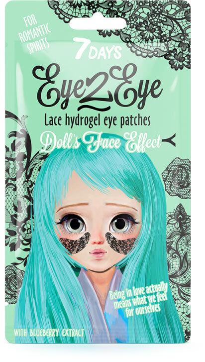 7Days Eye-2-Eye Lace Hydrogel Eye Patch Blueberry 6gr