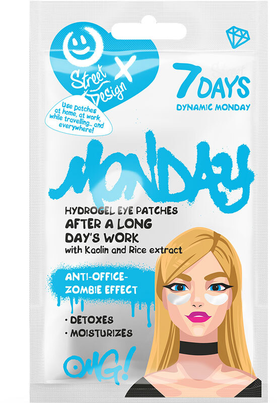 7Days Hydrogel Eye Patches Dynamic Monday 2,5gr