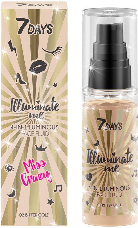 7Days Illuminate Me 4 In 1 Illuminating Face Fluid Miss Crazy 50ml