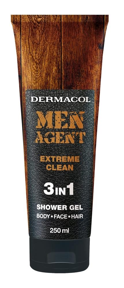 Dermacol Men Agent Extreme Clean Shower Gel 250ml 3in1