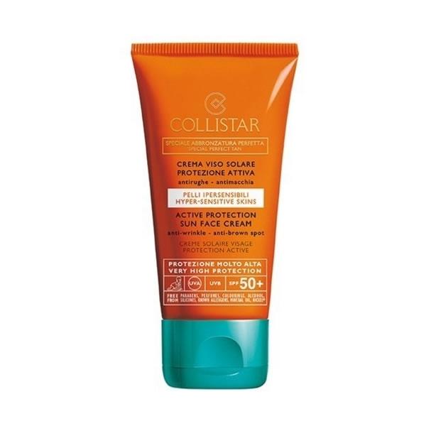 Collistar Special Perfect Tan Active Protection Sun Face Cream 50ml SPF 50+