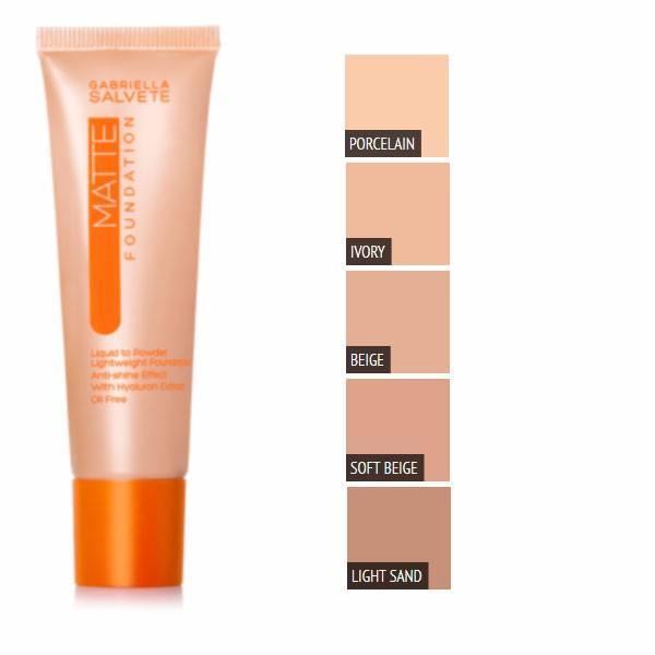 Gabriella Salvete Matte Makeup 30ml 104 Light Sand