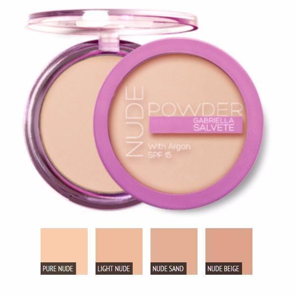 Gabriella Salvete Nude Powder Powder 8gr Spf15 01 Pure Nude