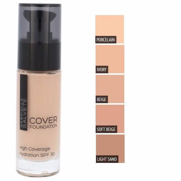 Gabriella Salvete Cover Foundation Makeup 30ml Spf30 104 Light Sand