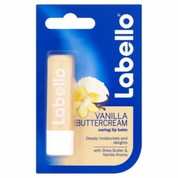 Labello Vanilla Buttercream Lip Balm 5,5ml (For All Ages)