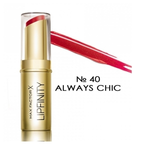 MAX FACTOR Lipfinity Long Lasting pomadka do ust 40 Always Chic 3,79g